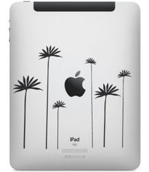 iPad Tattoo Blumen