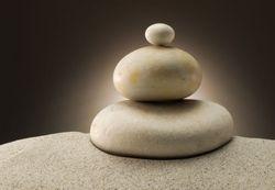 Vliestapete Balance