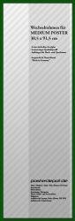 Zubehör Wechselrahmen 30,5 x 91,5 cm Grün – Bild 1