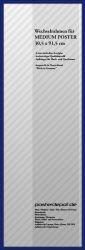 Zubehör Wechselrahmen 30,5 x 91,5 cm Blau – Bild 1