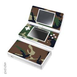 Nintendo DS Sticker  Camouflage - Tarnmuster