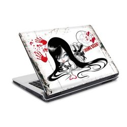 "Laptop Sticker 10"" Maya Fox - im Visier"