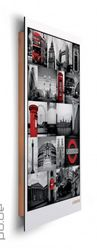 Deco Panel London - red collage – Bild 2