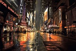 Poster Manhattan 42nd Street 2