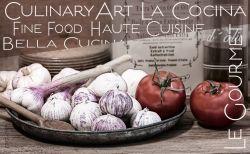 Frühstücksbrettchen Culinary Art - Tomaten und Knoblauch
