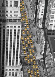 Glasbild New York - Blick von oben