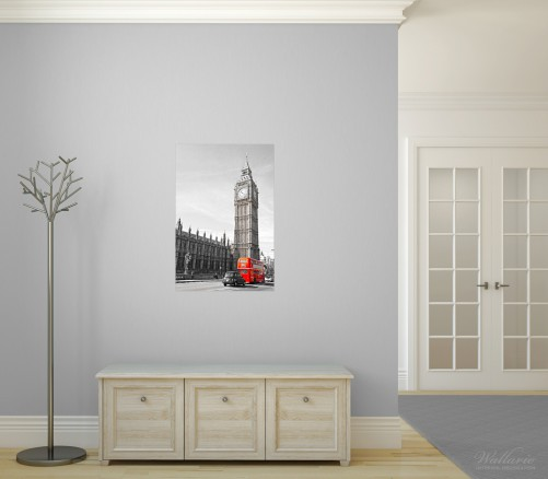 Poster London Red Bus – Bild 3