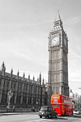 Poster London Red Bus – Bild 1