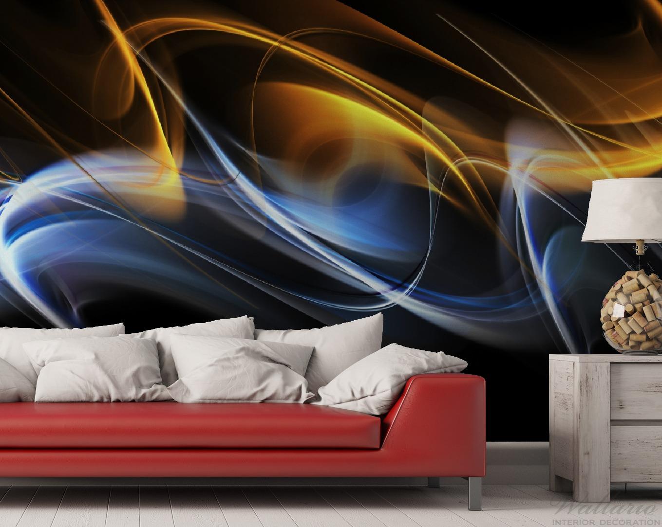Vliestapete Abstraktes Design – Bild 2