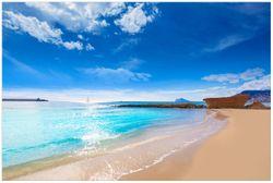 Vliestapete Traumstrand unter blauem Himmel – Bild 1