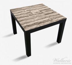 Möbelfolie Steinwand grau-braun – Bild 1