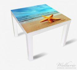 Möbelfolie Seestern am Strand am Meer – Bild 2