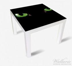 Möbelfolie Grüne Katzenaugen bei Nacht – Bild 2