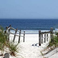 Möbelfolie Blick auf Strand – Bild 3