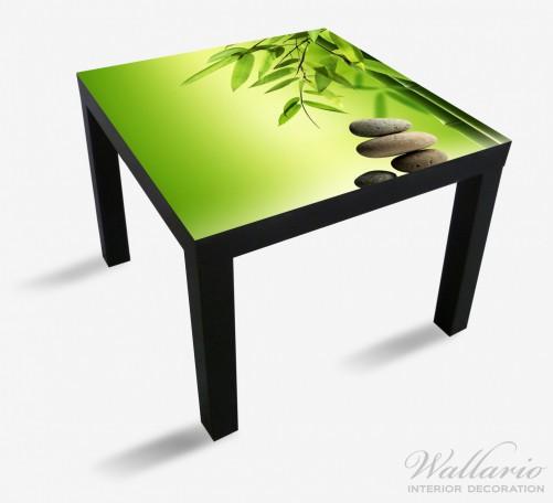 Möbelfolie Steinstapel im Grünen – Bild 1
