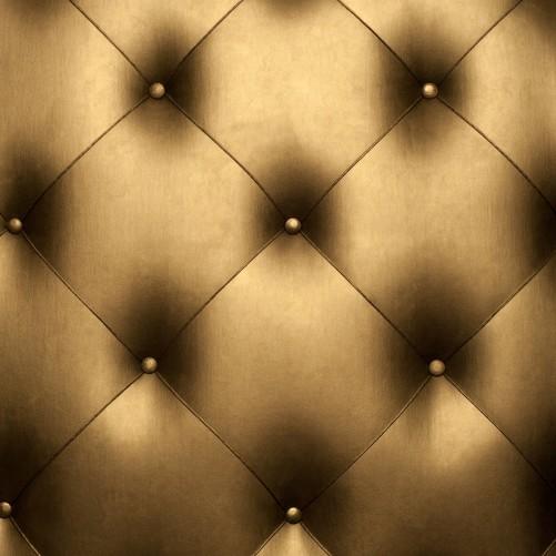 Möbelfolie Goldene Ledertür – Bild 3