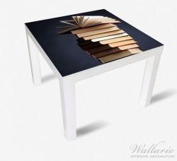 Möbelfolie Bücherstapel – Bild 2