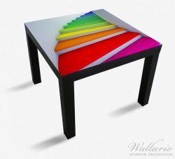 Möbelfolie Bunte Treppe – Bild 1