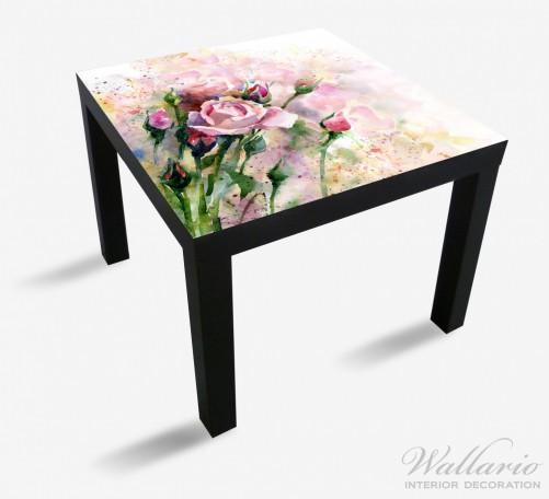 Möbelfolie Abstraktes Blumenbuket – Bild 1