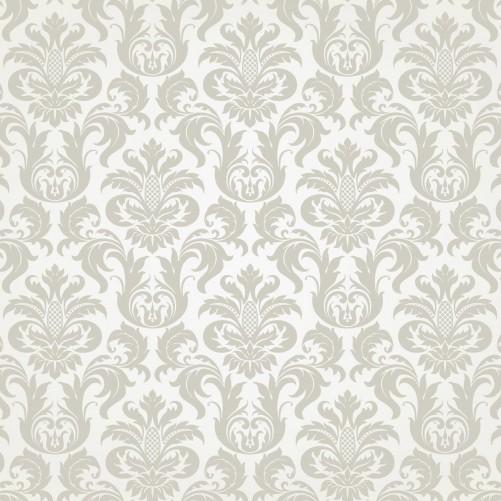 Möbelfolie Königliche Schnörkelei in weiß und beige – Bild 3