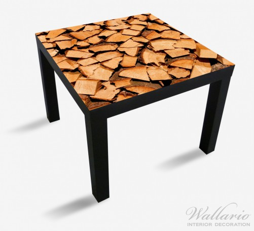 Möbelfolie Holzstapel gehackt - Holzscheite für den Kamin – Bild 1