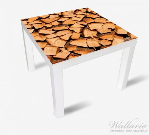 Möbelfolie Holzstapel gehackt - Holzscheite für den Kamin – Bild 2