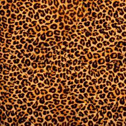 Möbelfolie Leopardenmuster  in orange schwarz – Bild 3