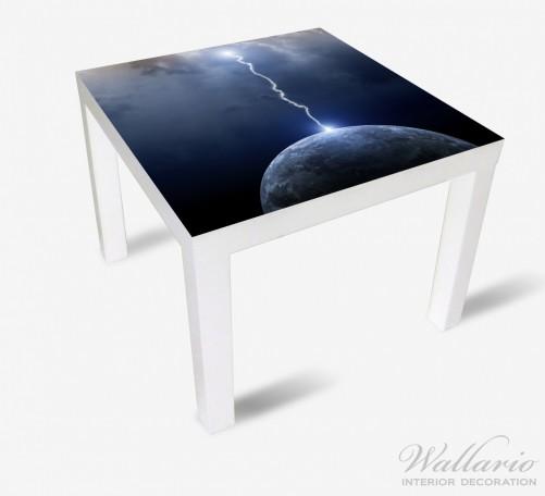 Möbelfolie Gewitter über der Erde – Bild 2