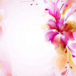 Möbelfolie Pinkes Blumenbuket – Bild 3