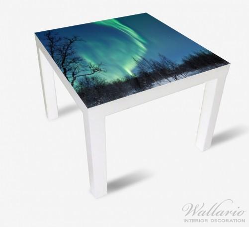 Möbelfolie Polarlicht in Schweden – Bild 2