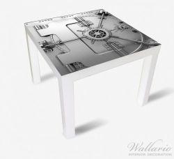 Möbelfolie Tresortür mit Öffnungsmechanismus – Bild 2