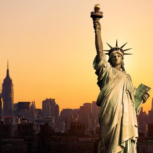 Möbelfolie Freiheitsstatue New York – Bild 3