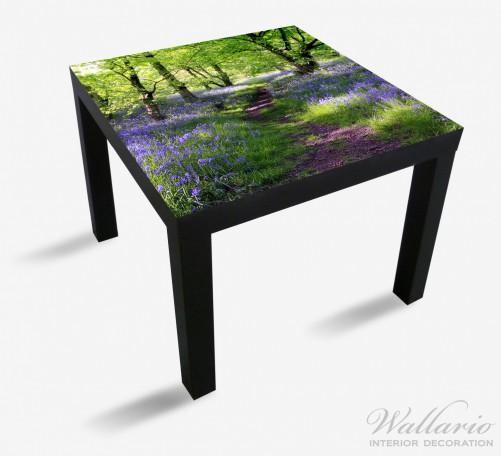 m belfolie blaues hasengl ckchen im wald ikea m belfolien. Black Bedroom Furniture Sets. Home Design Ideas