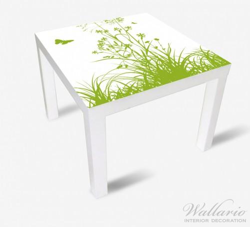 Möbelfolie Grüne Sommerwiese – Bild 2