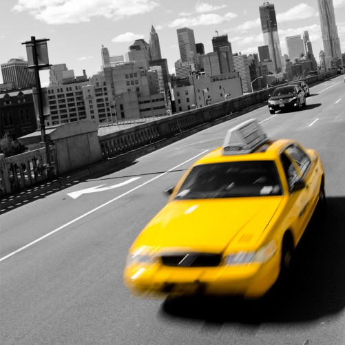 Möbelfolie New York Yellow Taxi II – Bild 3