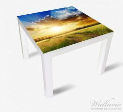 Möbelfolie Feldweg in den Sonnenuntergang – Bild 2