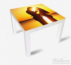 Möbelfolie Liebespaar im Sonnenschein – Bild 2