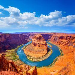 Möbelfolie Hufeisenförmiger Mäander des Colorado River – Bild 3