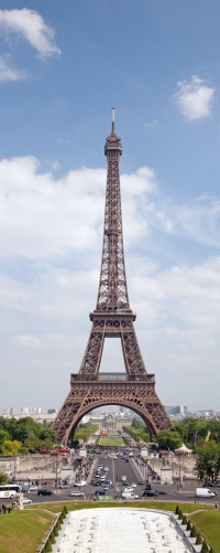 Poster Eiffelturm in Paris