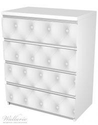 Möbelfolie Weiße Ledertür – Bild 5
