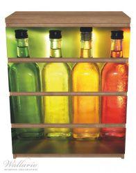 Möbelfolie Gelb-grüne Flaschen – Bild 3