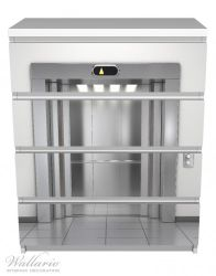 Möbelfolie Fahrstuhl – Bild 2