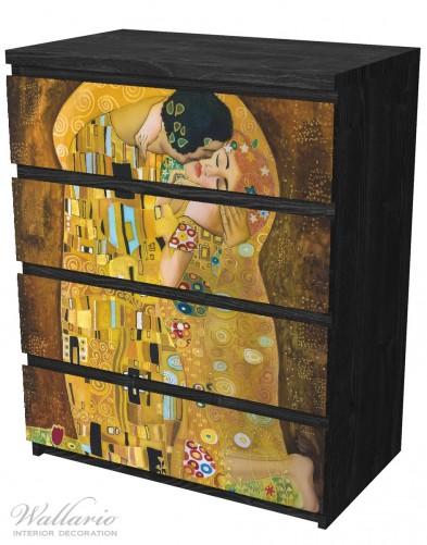 Möbelfolie Der Kuss von Klimt – Bild 4