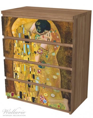 Möbelfolie Der Kuss von Klimt – Bild 6