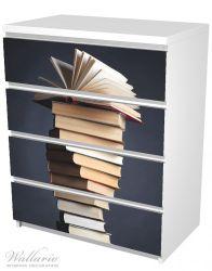 Möbelfolie Bücherstapel – Bild 5