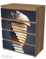 Möbelfolie Bücherstapel – Bild 6
