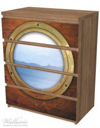 Möbelfolie Guckloch aus dem Boot – Bild 6