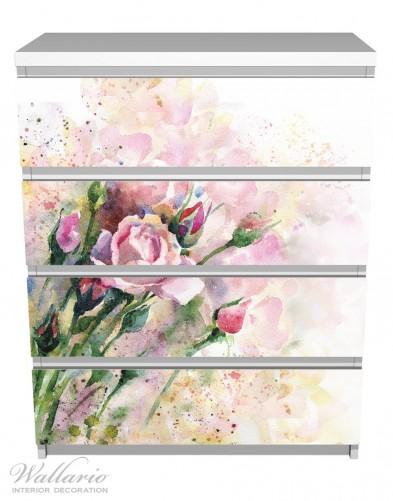 Möbelfolie Abstraktes Blumenbuket – Bild 2