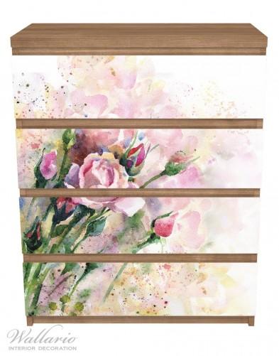 Möbelfolie Abstraktes Blumenbuket – Bild 3