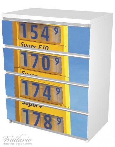 Möbelfolie Benzinpreistafel – Bild 5